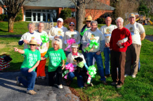 Volunteers at Cleanup Day 2014